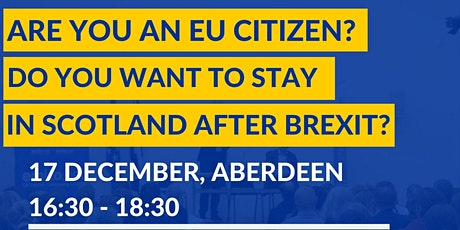 Information Session on EU Settlement Scheme in Aberdeen tickets