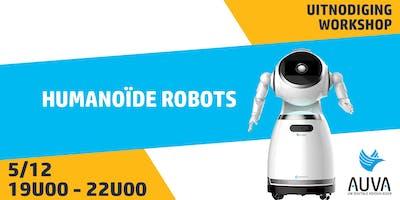 Workshop: Humanoïde robots voor uw klantenbeleving