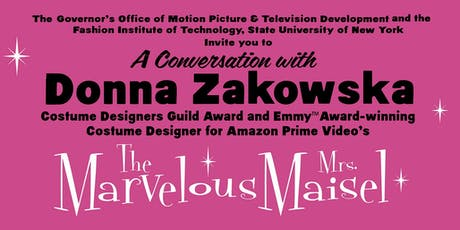 The Marvelous Mrs. Maisel Goes to FIT SUNY tickets