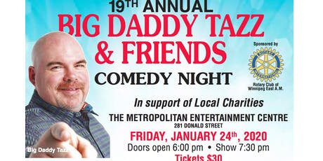 Big Daddy Tazz & Friends Comedy Night tickets