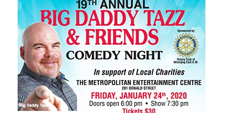 Big Daddy Tazz & Friends Comedy Night tickets