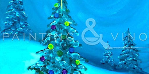 Recreate this holiday paint 'O Christmas Tree' at Beachside Bar