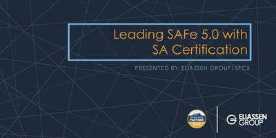 Leading SAFe 5.0 with SA Certification - Seattle - June