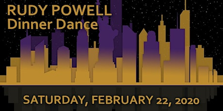 8th Annual Rudy Powell Memorial Dinner Dance 2020 tickets