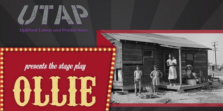 """OLLIE"" The stage play tickets"