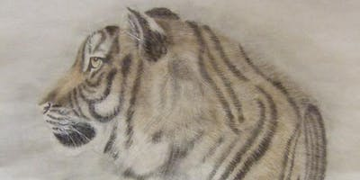 Chinese Brush Painting- Tiger with Anne Allan