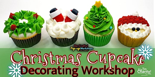 Be Crafty! Pop-up: Christmas Cupcake Decorating Workshop at TURBO Kitchen