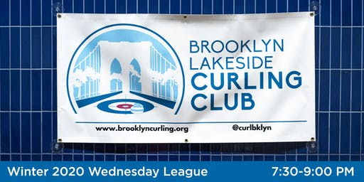 Brooklyn Lakeside Curling League Winter 2020 Wednesday