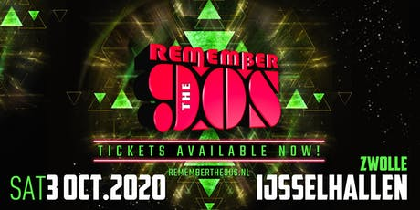 Remember the 90's tickets