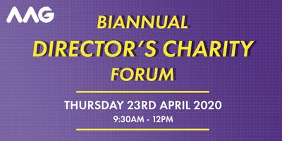 Biannual Directors Charity Forum April 2020