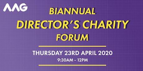 Biannual Directors Charity Forum April 2020 tickets
