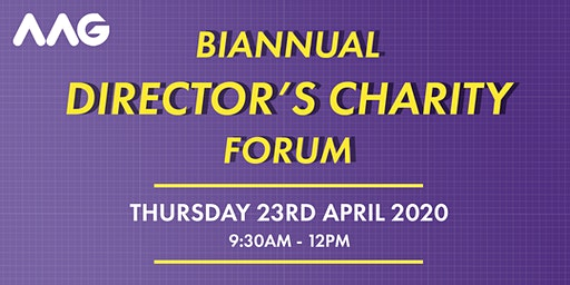 Biannual Directors Charity Forum April 2020