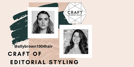 CRAFT OF EDITORIAL STYLING tickets