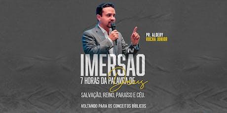 Imersão Pr. Aldery Rocha Júnior ingressos