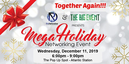 2019 Mega Holiday Networking Party