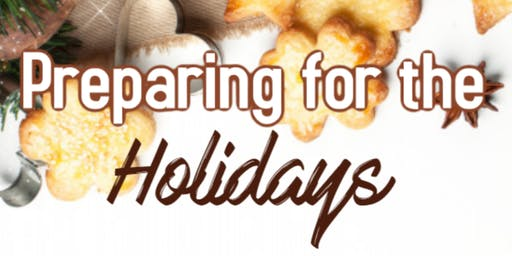 Preparing for the Holidays the Gluten Free Way