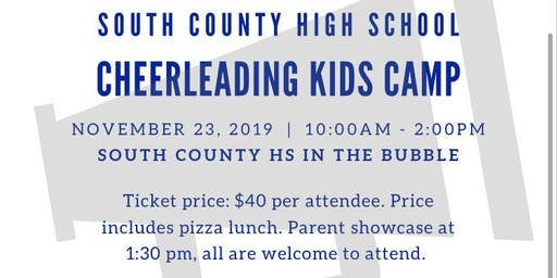 South County Cheer Camp