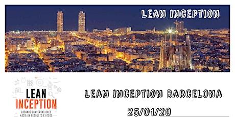 Formación Lean Inception en Barcelona entradas