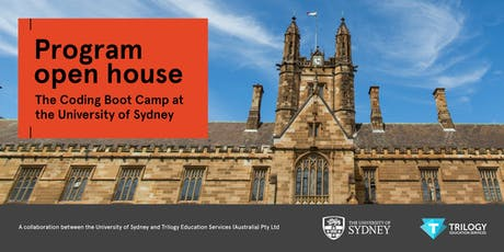 The Coding Boot Camp at the University of Sydney Open House tickets