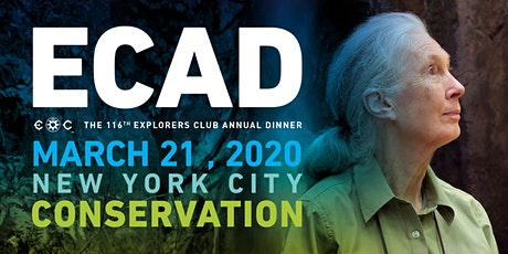 The 116th Explorers Club Annual Dinner - ECAD 2020 tickets