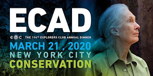The 116th Explorers Club Annual Dinner - ECAD 2020