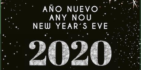 CAP D'ANY AL MIRABLAU. AÑO NUEVO EN MIRABLAU. NEW YEAR'S EVE AT MIRABLAU entradas
