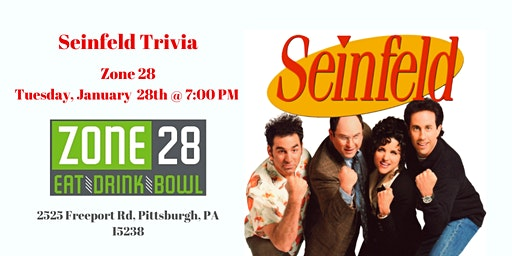 Seinfeld Trivia at Zone 28