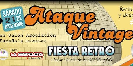 Ataque Vintage Fiesta Retro entradas