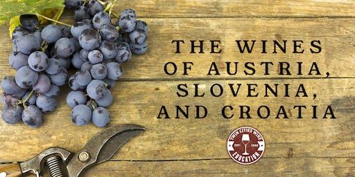 The Wines of Austria, Slovenia, and Croatia