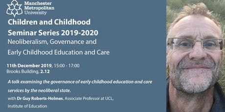 Neoliberalism, Governance and Early Childhood Education and Care tickets