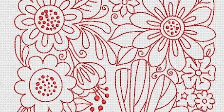 Digital Embroidery Workshop tickets