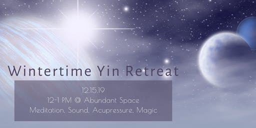 Honoring You + Your Year: Wintertime Meditation + Workshop