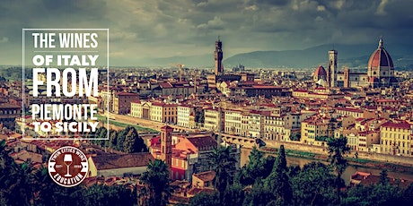 The Wines of Italy: from Piedmont to Sicily and everywhere in-between tickets