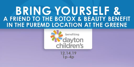 Botox Benefit for Dayton Children's Hospital