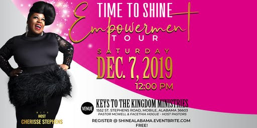 Time To Shine Empowerment Tour With Cherisse Stephens