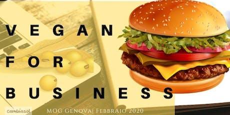 Vegan for Business - strategia e pratica - corso biglietti