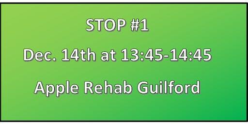 Madison Rotary Club •Apple Rehab Guilford Caroling