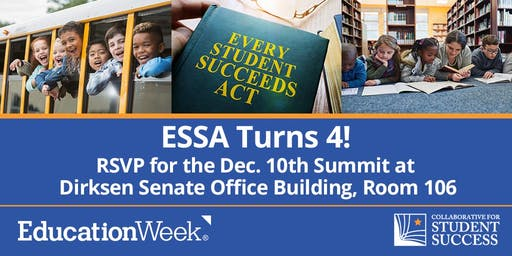 Every Student Succeeds Act Four Year Anniversary Event