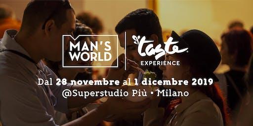 MASTERCLASS BRANCA - MAN'S WORLD | TASTE EXPERIENCE