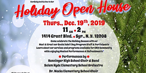 Winds of Agape, Inc. HOLIDAY OPEN HOUSE 2019