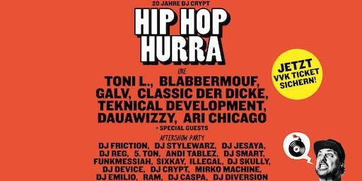 Hip Hop Hurra - 20 Jahre Dj Crypt