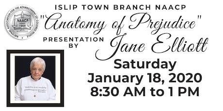 Islip Town Branch NAACP Presentation with Jane Elliott tickets