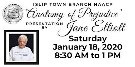 Islip Town Branch NAACP Presentation with Jane Elliott tickets
