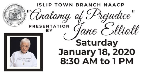 Islip Town Branch NAACP Presentation with Jane Elliott