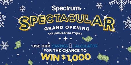 Columbus Spectrum Spectacular Grand Opening tickets