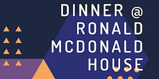 Dinner at Ronald McDonald House