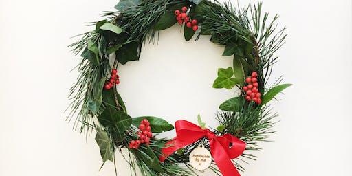 Wild Wreath making workshop with Jenny Smith