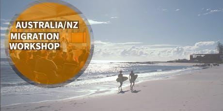 Australia/New Zealand Migration Job Workshop tickets
