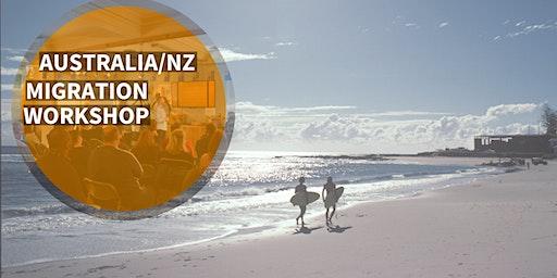 Australia/New Zealand Migration Job Workshop