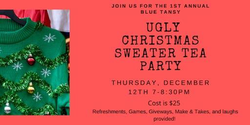 Ugly Christmas Sweater Tea